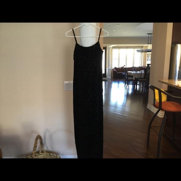 Long Black Dress (Size 4)